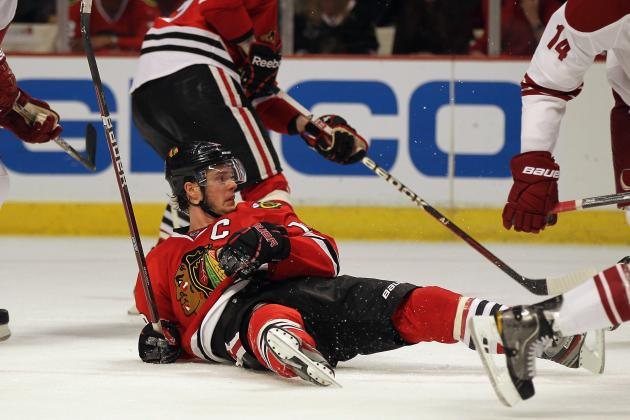 NHL Playoffs 2012: Blackhawks Can't Solve Mike Smith, Go out with a Whimper