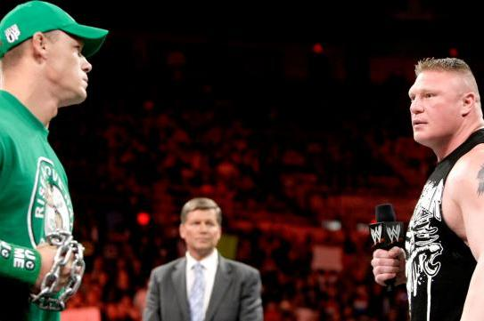 WWE Raw Deal April 23: The Lesnar/Cena Contract Is Signed