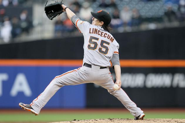 Giants vs. Mets: Tim Lincecum Gets 1st Win, but Still Searching for His Form