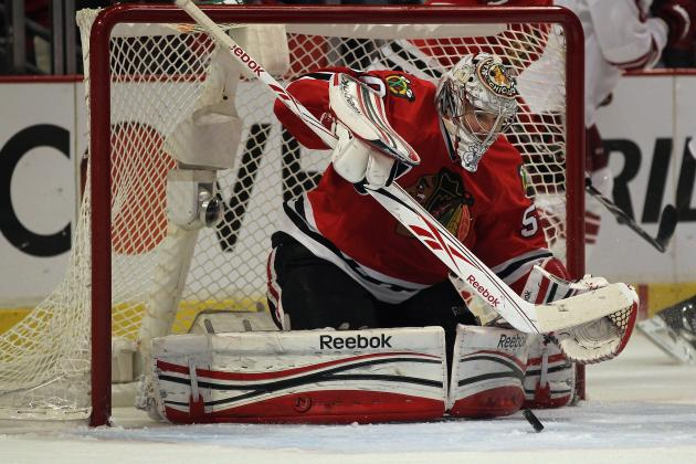 Chicago Blackhawks: Corey Crawford Not Solely to Blame for Early Exit