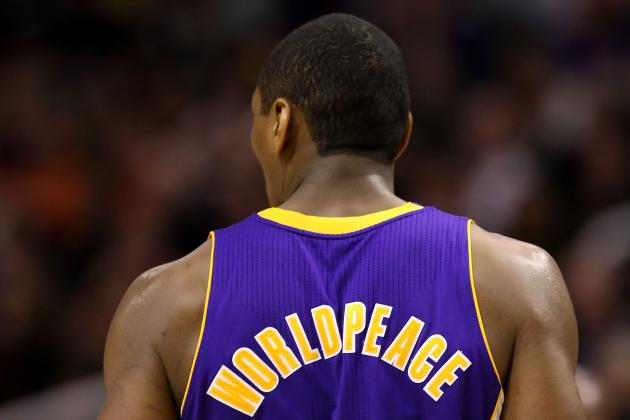 Metta World Peace: Fit for a Strait Jacket