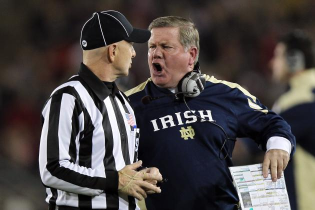 Notre Dame Football 2012: An Evaluation of Brian Kelly Through Year 2