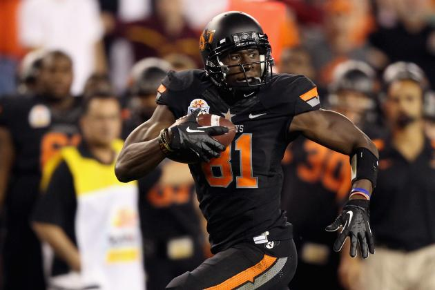 2012 NFL Draft: Is Justin Blackmon the Backup Plan for the Cleveland Browns?