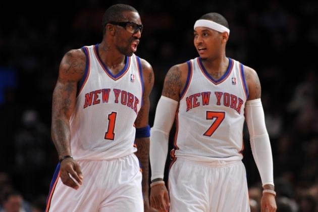 How Carmelo Anthony and Amar'e Stoudemire Can Work Together for NY Knicks