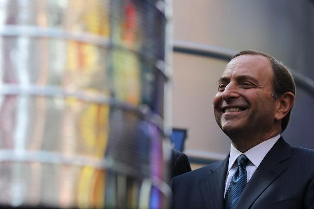 Gary Bettman, NHL Likely Pleased with Western Conference Playoff Results
