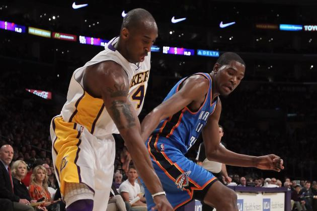 Kobe Bryant vs. Kevin Durant: Scoring Race Comes Down to Final Game