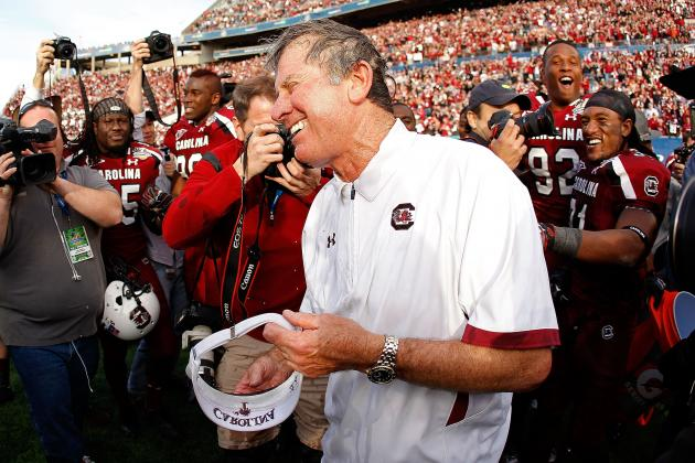Spurrier Spoke About the Gamecocks on the SEC Teleconference