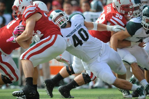 College Football 2012 Top 150 Players: No. 133 Max Bullough Michigan State LB