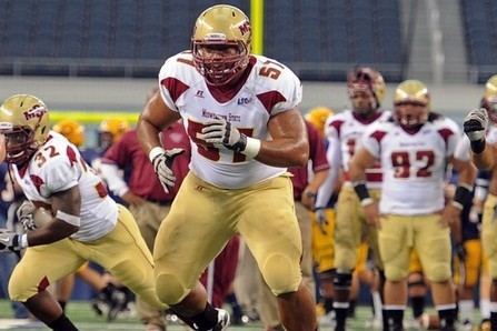 Detroit Lions 2012 NFL Draft Profile: Polynesian Sensation Guard Amini Silatolu