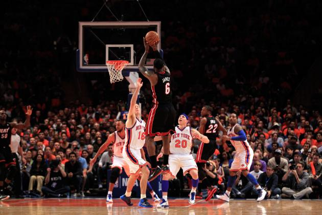 NBA Playoffs 2012: Miami Heat vs. New York Knicks Series Analysis