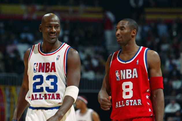 Kobe Bryant Doesn't Feel the Need to Catch Up to Michael Jordan