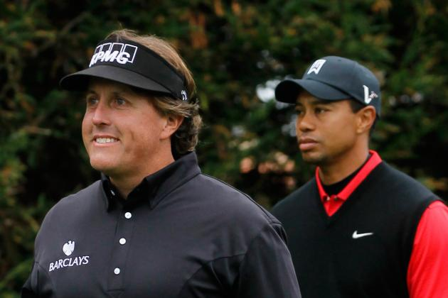 Mickelson is IN, Tiger is OUT for Now…