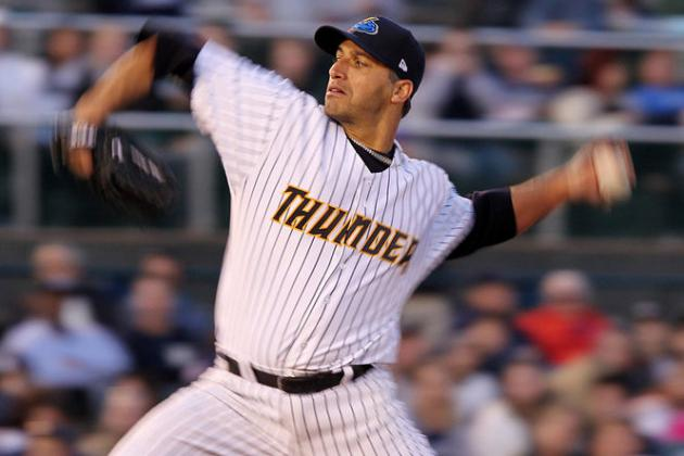 New York Yankees: Andy Pettitte Another Step Closer to Majors in Class AA Start