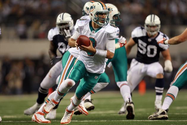 Miami Dolphins 2012 NFL Mock Draft: Matt Moore > Tannehill