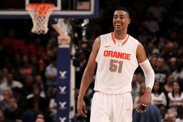 Syracuse Basketball: Gauging Fab Melo's Prospects in the 2012 NBA Draft