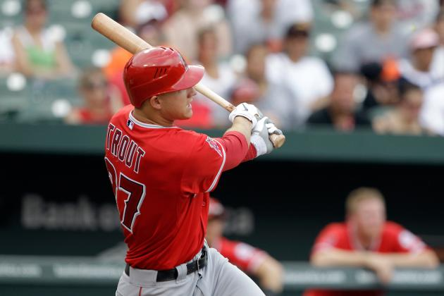 Free Mike Trout: Angels Prospect Returns to Lineup After HBP, Now Hitting .419