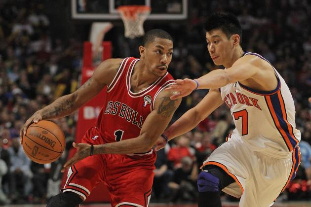 Derrick Rose and Jeremy Lin Won over Hearts, Minds and Wallets This Season