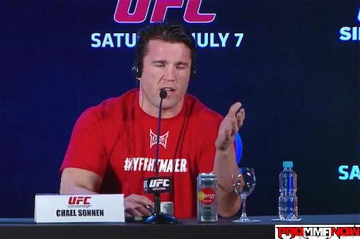 Chael Sonnen Gets Brazilian Treatment: Shock Pen Prank and Aggressive Reporters