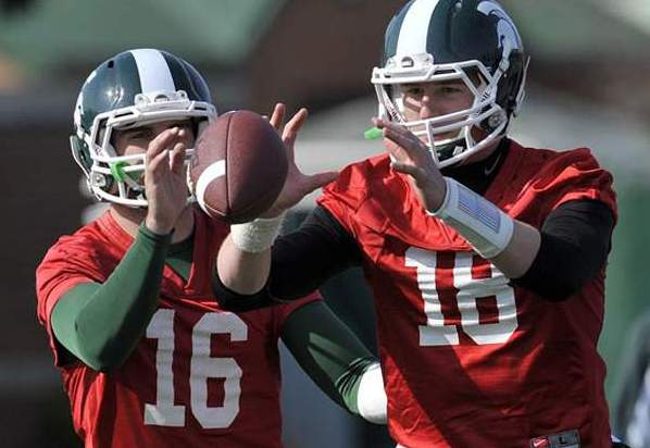 MSU's Andrew Maxwell Out; QB Connor Cook Gets Chance to Shine