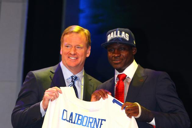 2012 NFL Draft: Cowboys Selection of Claiborne Makes Secondary a Strength