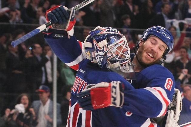 NHL Playoffs 2012: New York Rangers Eliminate Ottawa Senators