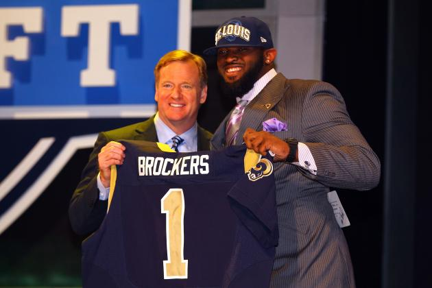 2012 NFL Draft Grades: Why Michael Brockers Is a B- for the Rams