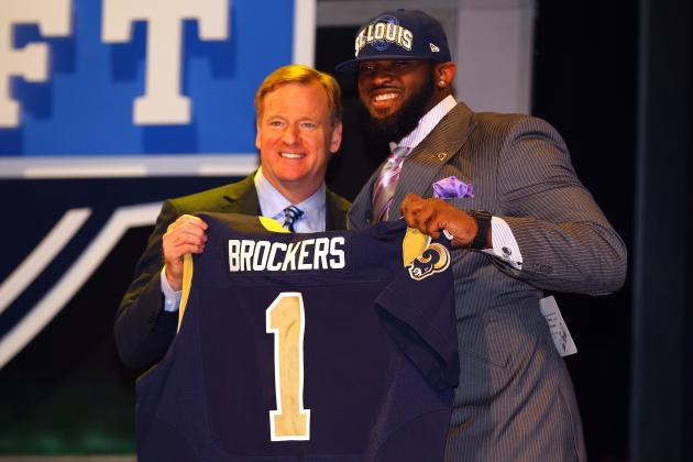 St. Louis Rams Draft LSU DT Michael Brockers with No. 14 Pick