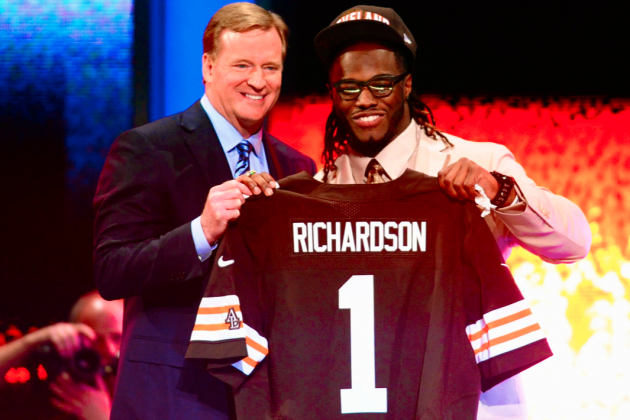 NFL Draft 2012 Results: Live Pick-by-Pick Grades and Analysis for Day 1
