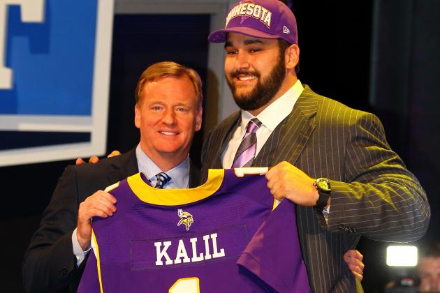 2012 NFL Draft: With Kalil and Smith, Minnesota Vikings Are Big Winners on Day 1