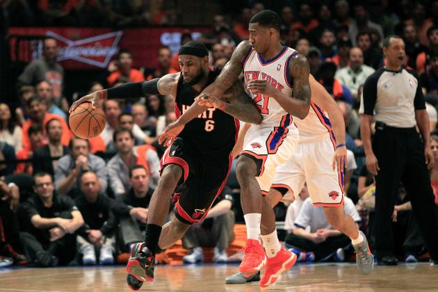 NBA Playoffs 2012: New York Knicks' Most Important Role Player