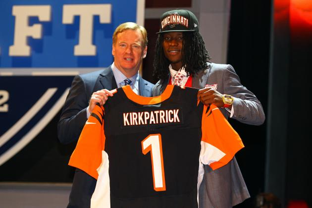 Cincinnati Bengals 2012 Draft: Bengals March Forward with a Solid 1st Round