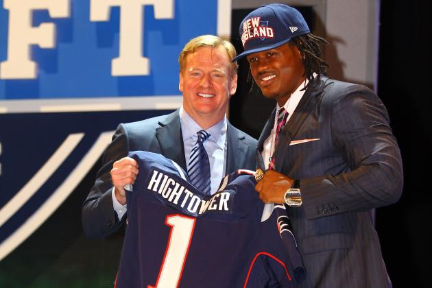 2012 NFL Draft: Grading the New England Patriots 2 Draft Picks in Round 1