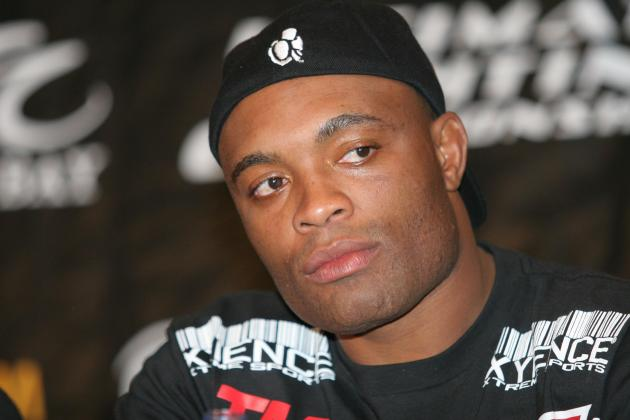 Anderson Silva Upset at Las Vegas Venue, but Says He'll Beat Sonnen Wherever