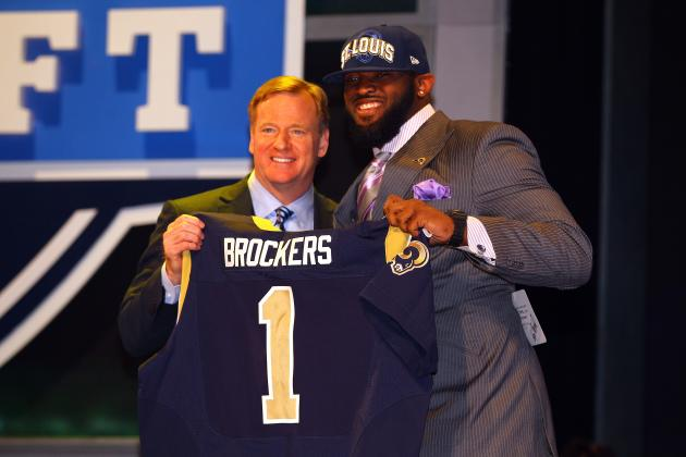 2012 NFL Draft Results: Grading Michael Brockers to the St. Louis Rams