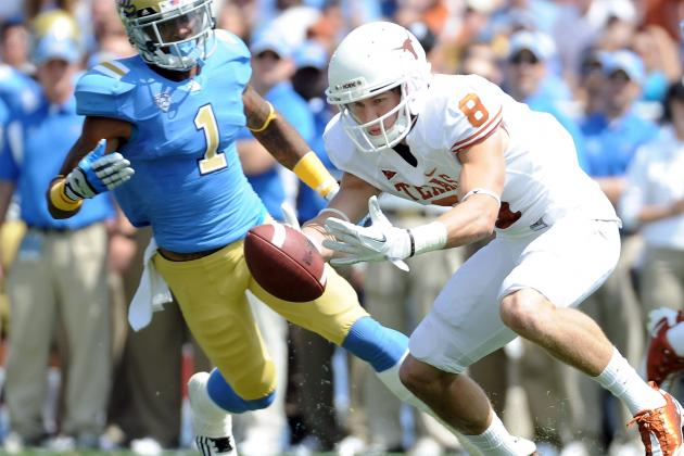 College Football 2012 Top 150 Players: No. 131 Jaxon Shipley, Texas WR