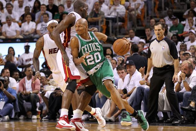 NBA Playoffs 2012: Celtics Are Better Without Ray Allen for First Round