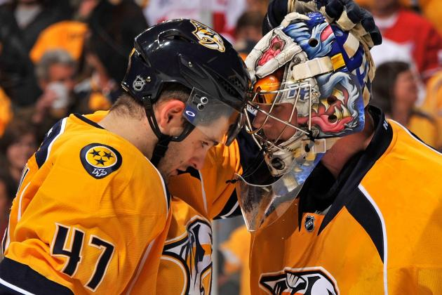 NHL Playoffs 2012: PHX-NSH Western Semis—Who Wins the Goaltending War?