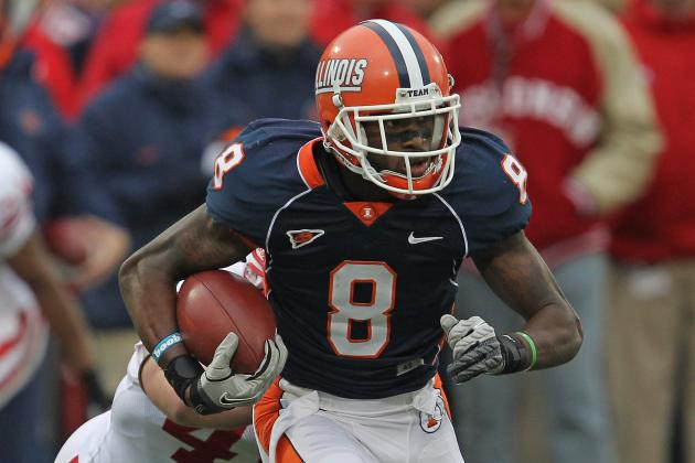 NFL Draft 2012: 49ers Surprise and Select Illinois WR A.J. Jenkins