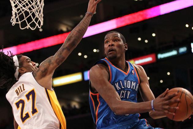 Jordan Hill Looks to Climb Up the L.A. Lakers Rotation