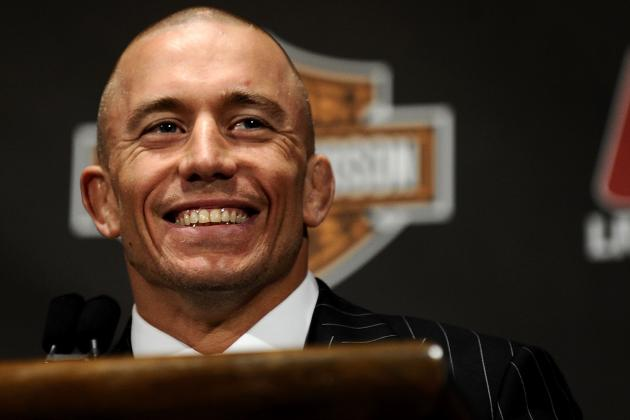 Georges St-Pierre: UFC Fighters Need to Act More Professional