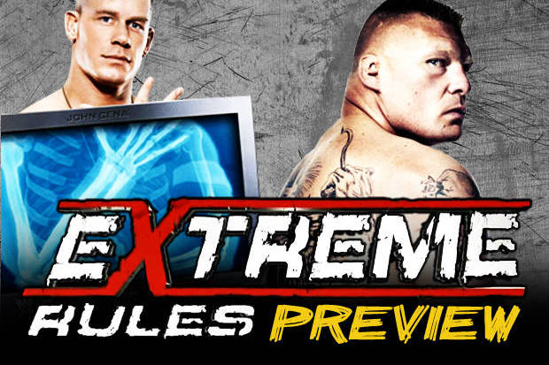 WWE Extreme Rules: Will Brock Lesnar Defeat John Cena?