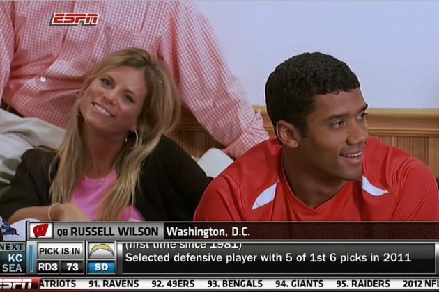Russell Wilson Wife: Ashton Wilson Steals Spotlight on Draft Night