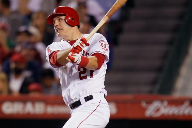 Los Angeles Angels of Anaheim Call Up Mike Trout, Part Ways with Bobby Abreu
