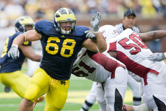 2012 NFL Draft: Michigan Nose Tackle Mike Martin Selected by Tennessee Titans