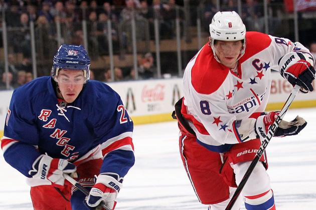 Predicting the Second Round of the 2012 NHL Playoffs: NY Rangers vs Washington