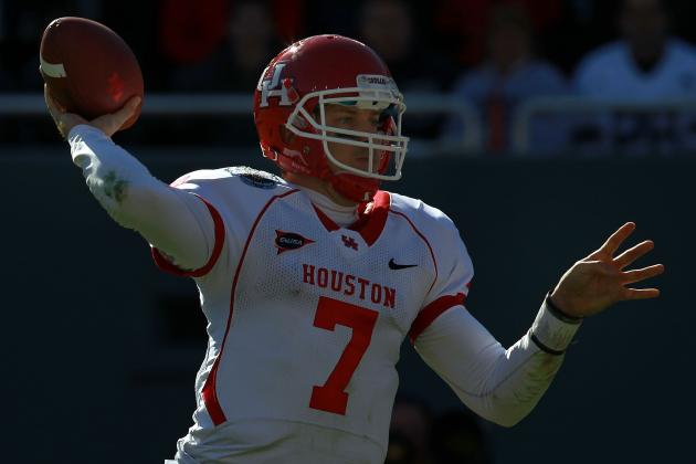 Case Keenum: Former Houston QB Worth a Selection Late in 2012 NFL Draft