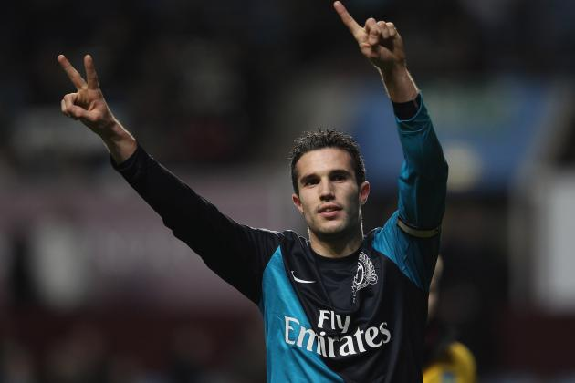 Robin Van Persie's Creativity, Wojciech Szczesny's Confidence and a Vital Point