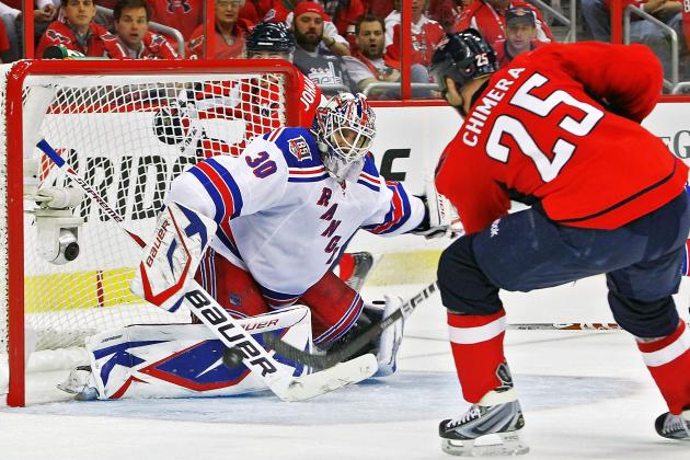 NHL Playoffs 2012: New York Rangers Look for Revenge Against Washington Capitals