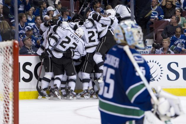 NHL Playoffs 2012: Los Angeles Kings Head to St. Louis for Round 2