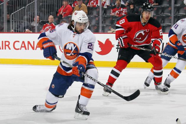 Matt Moulson: New York Islanders Forward Named Finalist for Lady Byng Trophy